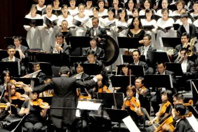 刘炽《我的祖国》和贝多芬《第九合唱交响曲》第四